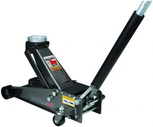 3 ton Steel Heavy Duty Floor Jack with Rapid Pump by USATNM