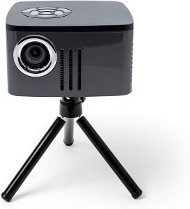 AAXA P7 Mini Projector with Battery, Native 1080P Full HD Resolution