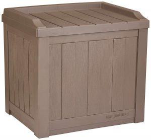 AmazonBasics 22-Gallon Resin Deck Storage Box