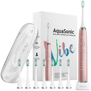 AquaSonic VIBE series Ultra Whitening Electric Toothbrush