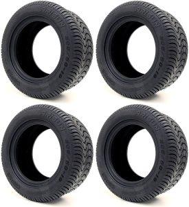 Arisun 205/50-10 DOT Street Tires for EZGO, Club Car, Yamaha Golf Carts