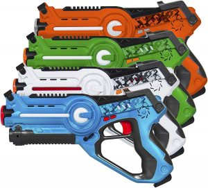 Best Choice Products Infrared Laser Tag Blaster Set for Kids & Adults with Multiplayer Mode