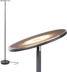 Brightech Sky Flux - The Very Brightest LED Torchiere Floor Lamp