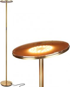 Brightech Sky LED Torchiere Super Bright Floor Lamp -