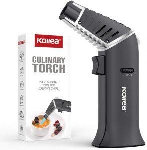 Butane Torch, Kollea Kitchen Culinary Torch Lighter Butane Refillable,