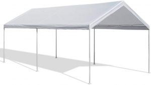 Caravan Canopy 10 X 20-Feet Domain Carport in White