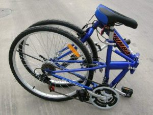 Columba Folding Bike Blue Color 26 inch