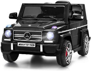 Costzon Kids Ride On Car, Licensed Mercedes Benz G65, 12V Battery Powered Electric Vehicle