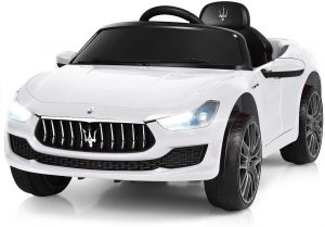 Costzon Ride on Car, 12V Licensed Maserati Gbili, Battery Powered Car
