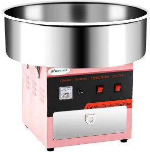 Cotton Candy Machine -Nurxiovo 21 Inch Large Electric Commercial Cotton Candy Maker Machine