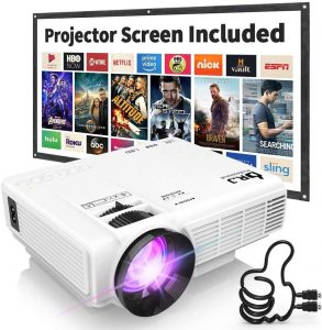 DR. J Professional Portable Movie Projector