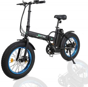 "ECOTRIC 20"" New Fat Tire Folding Electric Bike Beach Snow Bicycle ebike 500W"