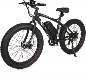 """ECOTRIC Fat Tire Electric Bike Beach Snow Bicycle 26"""""""
