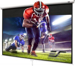 diy portable projector screen
