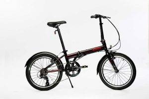 EuroMini ZiZZO Via 27lb Folding Bike-Lightweight Aluminum Frame