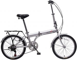 "IDS Home unYOUsual U Transformer 20"" Folding City Bike Bicycle 6 Speed"