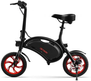 Jetson Bolt Folding E-Bike Full Throttle Electric Bicycle with LCD Display, Lightweight & Portable with Carrying Handle