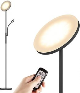 LED Floor Lamps - Standing Lamp with Flexible Gooseneck