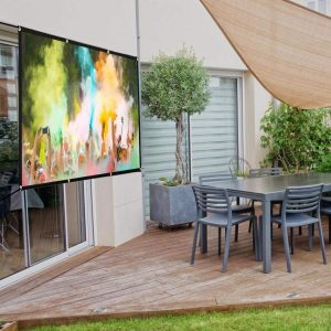 Home Theater portable projector screen