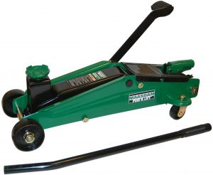 Maasdam Pow'R Lift MPL1449HD SUV Jack with Foot Pump, 3 Ton,Green