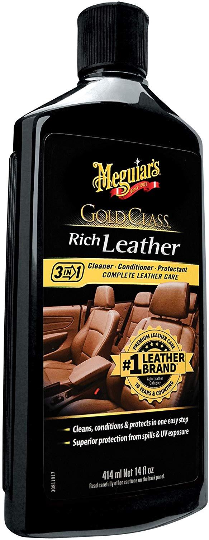 Meguiar's G7214 14 Ounces Gold Class Rich Leather Lotion