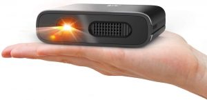 Mini Projector Artlii Portable DLP Projector with 5200mAh Built-in Battery for Travel and Outdoor