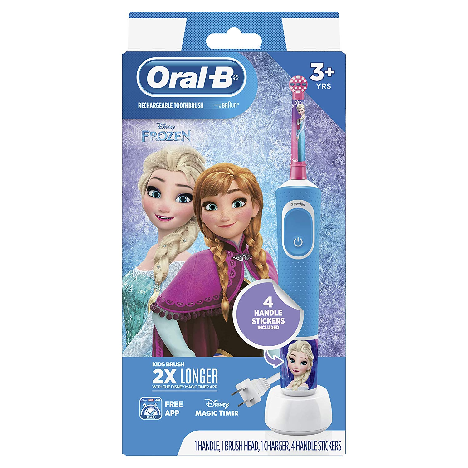 Oral-B Kids Electric Toothbrush Featuring Disney's Frozen, for Kids 3+ by Oral-B