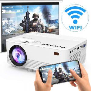 POYANK 3800Lux LED Wireless Mini Projector | WiFi Projector
