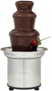 Sephra Select Chocolate Fountain Small 16-Inch Chocolate Fountain
