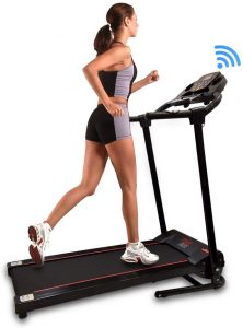 SereneLife Smart Digital Folding Exercise Machine