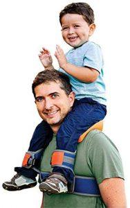 Shoulder Carrier Seat Saddle Kids Child Baby Ankle Straps