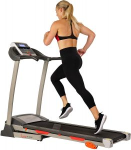 Sunny Health & Fitness Treadmill Motorized Running Machine