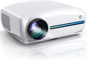 VIVIMAGE Explore 3 Native 1080P Projector | 6500 Lux Full HD LCD Led Home Theater