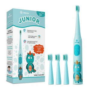 Vekkia Dragon Lord Sonic Rechargeable Kids Electric Toothbrush,