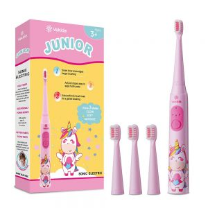 Vekkia Sonic Rechargeable Kids Electric Toothbrush,