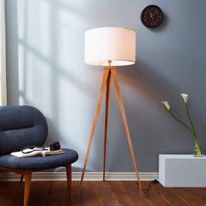 Versanora VN-L00007 Romanza Tripod Metal Legs LED Floor Lamp