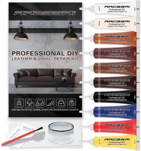 Vinyl and Leather Repair Kit - Restorer of Your Furniture, Car Seats, Sofa, Jacket, Purse, Belt, Shoes