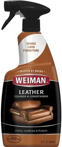 Weiman Leather Cleaner and Conditioner for Furniture - 22 Ounce