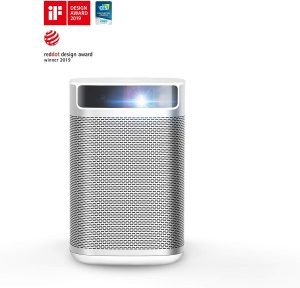XGIMI MoGo Smart Mini Portable Projector with Wi-Fi Bluetooth Android TV 9.0 5000+ Native apps