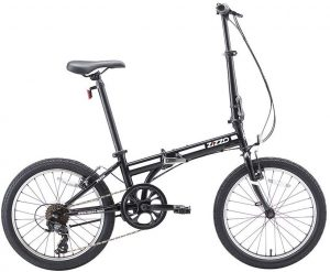 "ZiZZO EuroMini Ferro 20"" 29 lbs Light Weight Folding Bike"