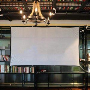 portable projector screen amazon