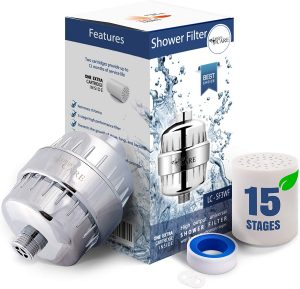 15 Stage Shower Filter Head