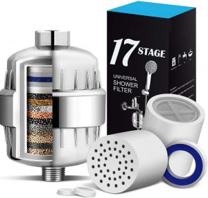 17 Stage Shower Filter | hard water filter for tap