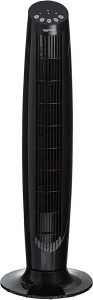 AmazonBasics Digital Oscillating 3 Speed Tower Fan with Remote