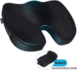 memory foam chair back cushion