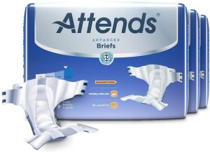 Attends Advanced Briefs with Advanced Dry-Lock Technology for Adult