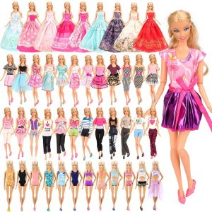 BARWA 16 Pack Doll Clothes and Accessories