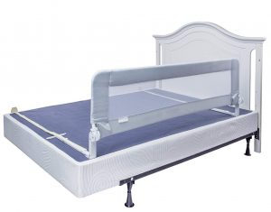 Bed Rails for Toddlers - Extra Long Toddler Bed Rail Guard for Kids Twin, Double, Full Size Queen & King Mattress