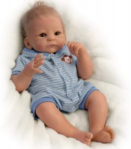Benjamin So Truly Real Lifelike & Realistic Weighted Newborn Baby Boy Doll