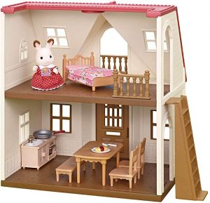 Calico Critters Red Roof Cozy Cottage for little girls